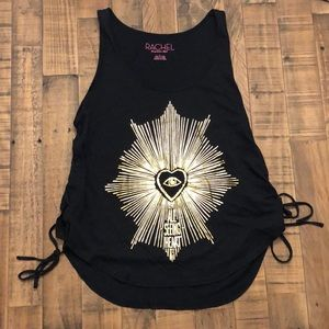 Rachel Roy Tank with laces down side Medium